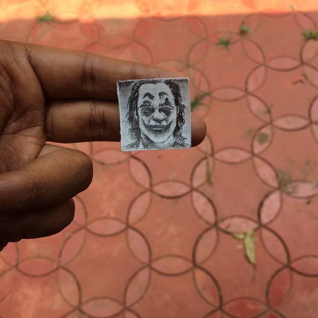 Micro portrait @jokermovie @theoscars2020  .  .  .  #joker #microportraits #drawingthesoul #draw #sketches #pencilsketches #pencilsketchesofinstagram #noportraits #jacquainphoenix #oscars2020 #mallu #art #artistsoninstagram #artoftheday #artofinstagram #artofindia #drawings #dieting