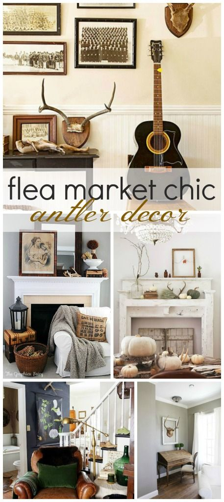 Antler Décor-12 Fabulous Styling Ideas For This Hot Trend BHG