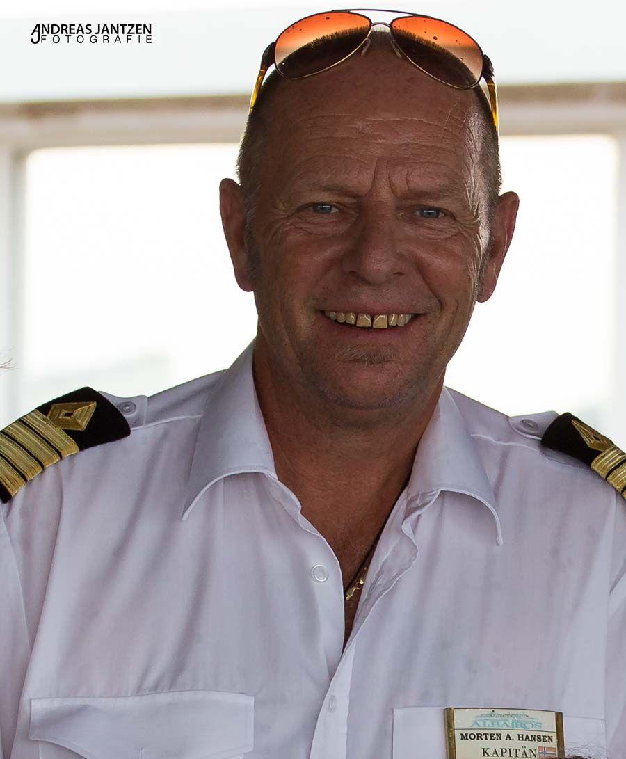 Kapitän Morten Hansen