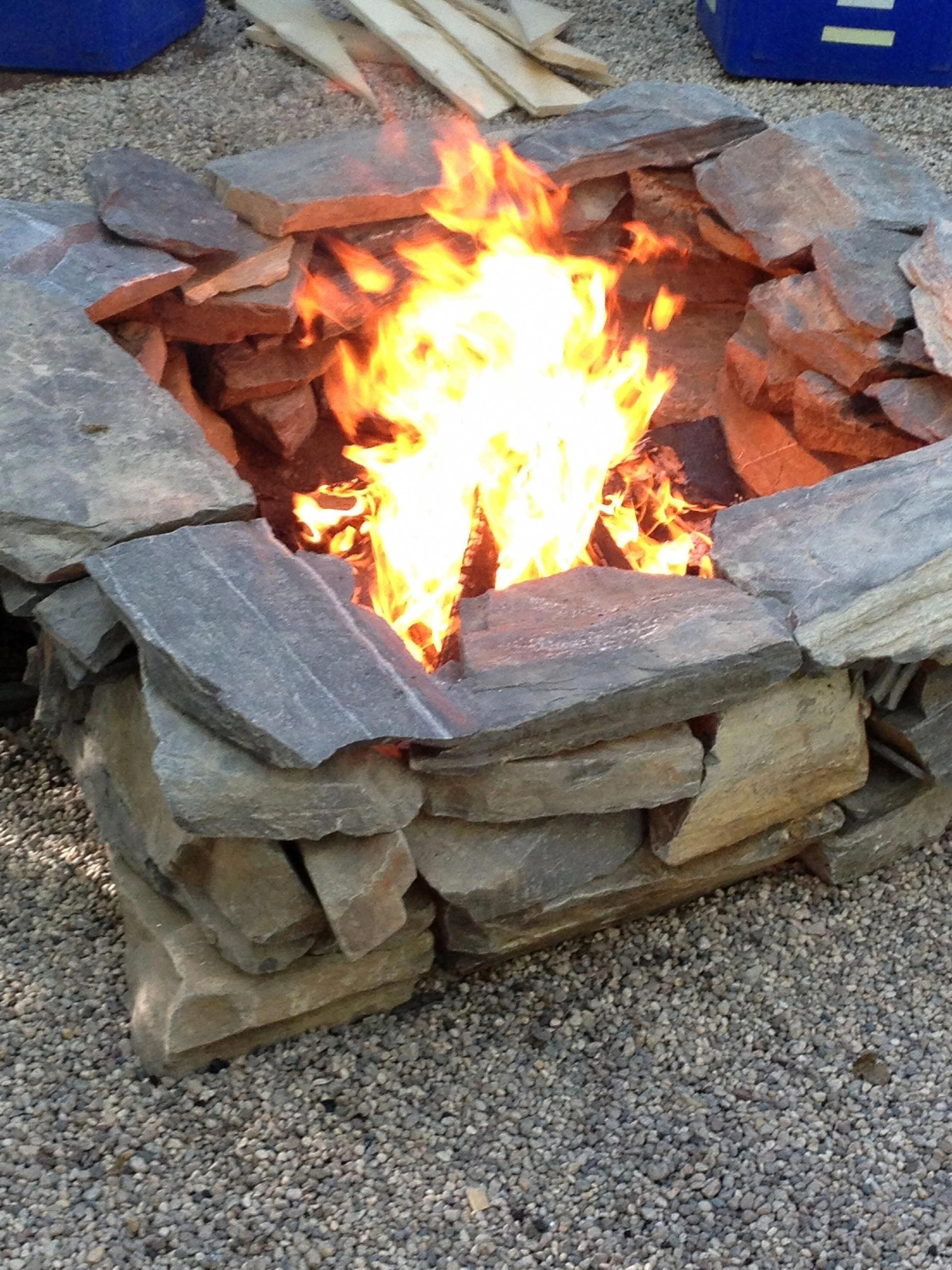 Photo of I really love this unique square fire pit