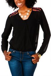 Monett Embellished Top