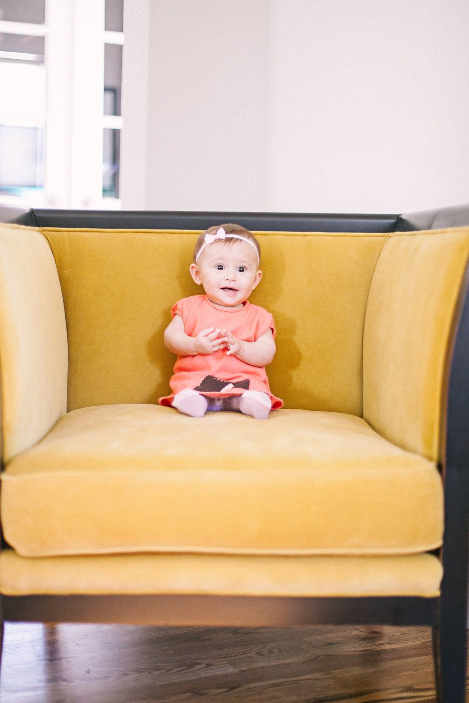 Such a big personality for such a small chair Photo By Sara Lynn, www.saralynnphoto.com