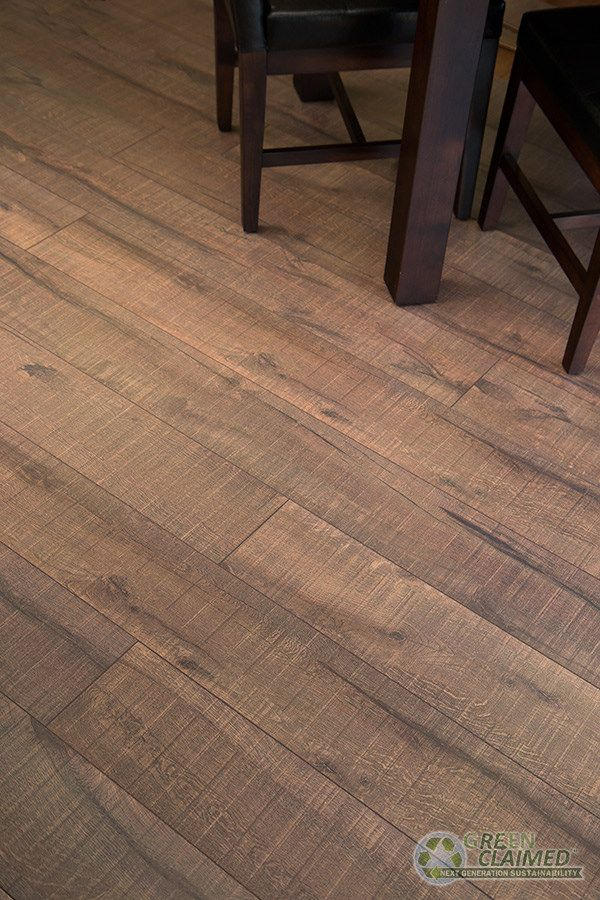 Faux wood flooring driftwood inspired cork for Laminate flooring contractors