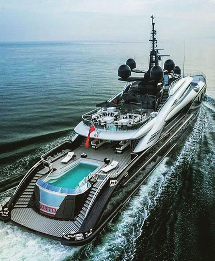 Okto by ISA Yachts Via @best lux #luxurycorp #yacht   Luxury