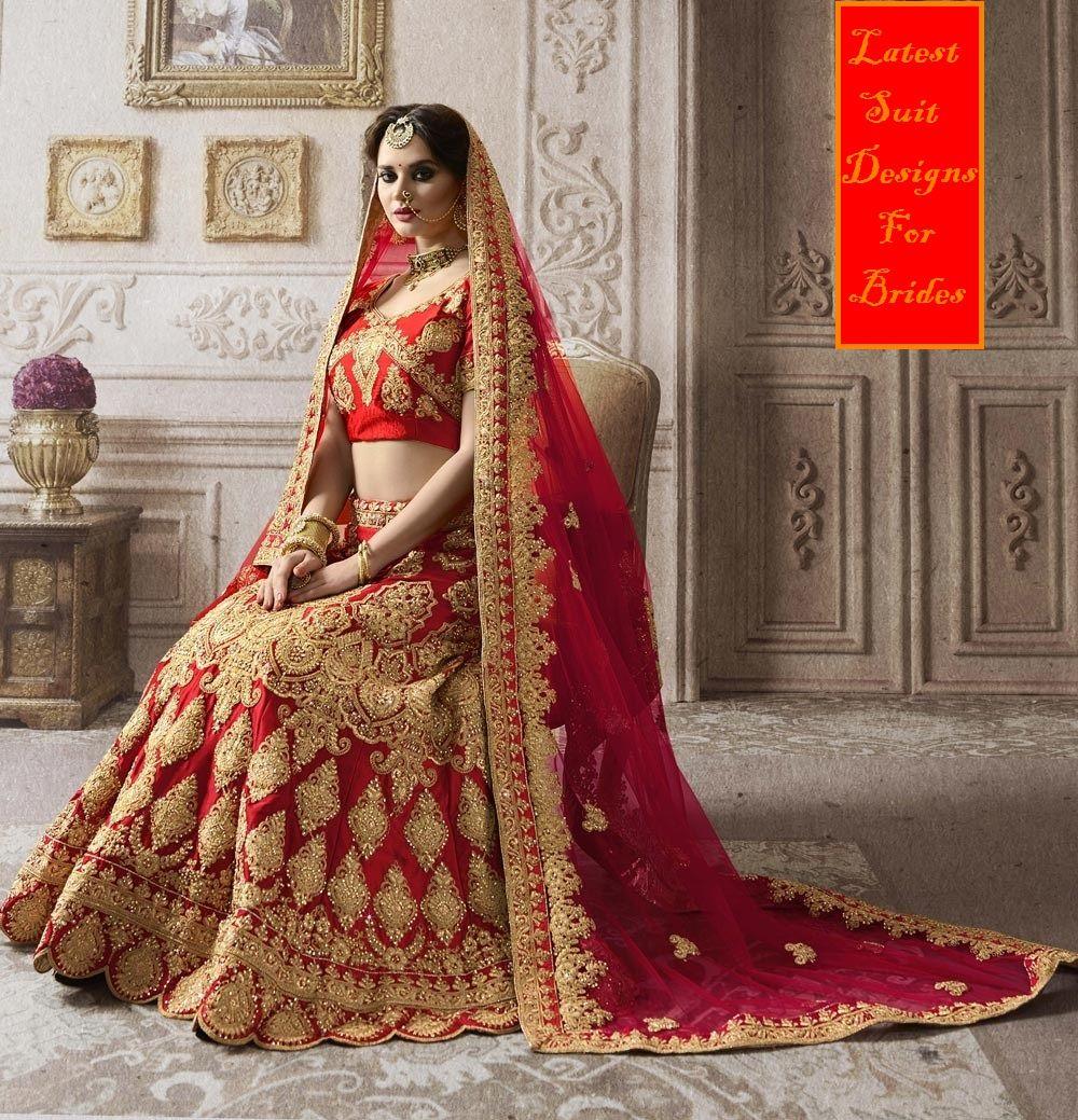 Upcoming Red Latest Bridal Lehenga Designs 2018 Images New Lehenga