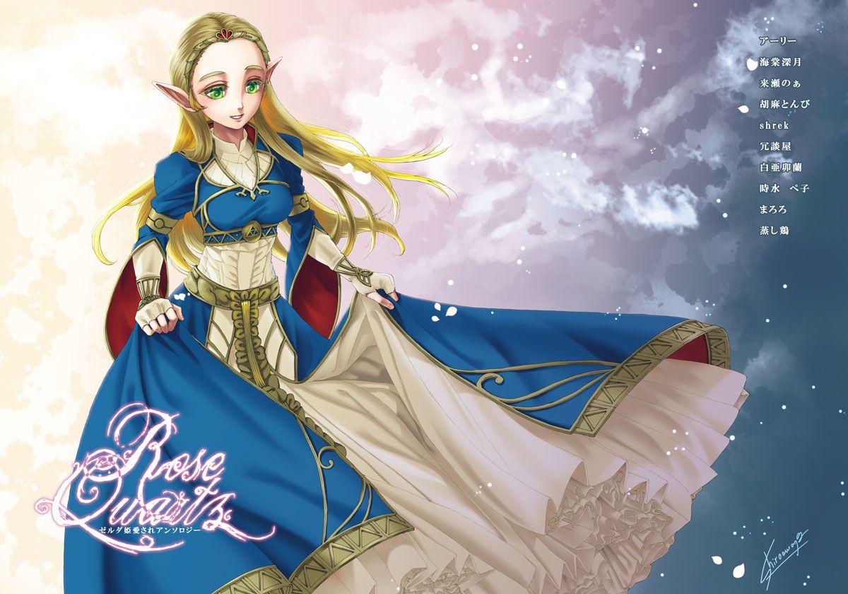 Princess Zelda Royal Dress Breatofthewild Legend Of