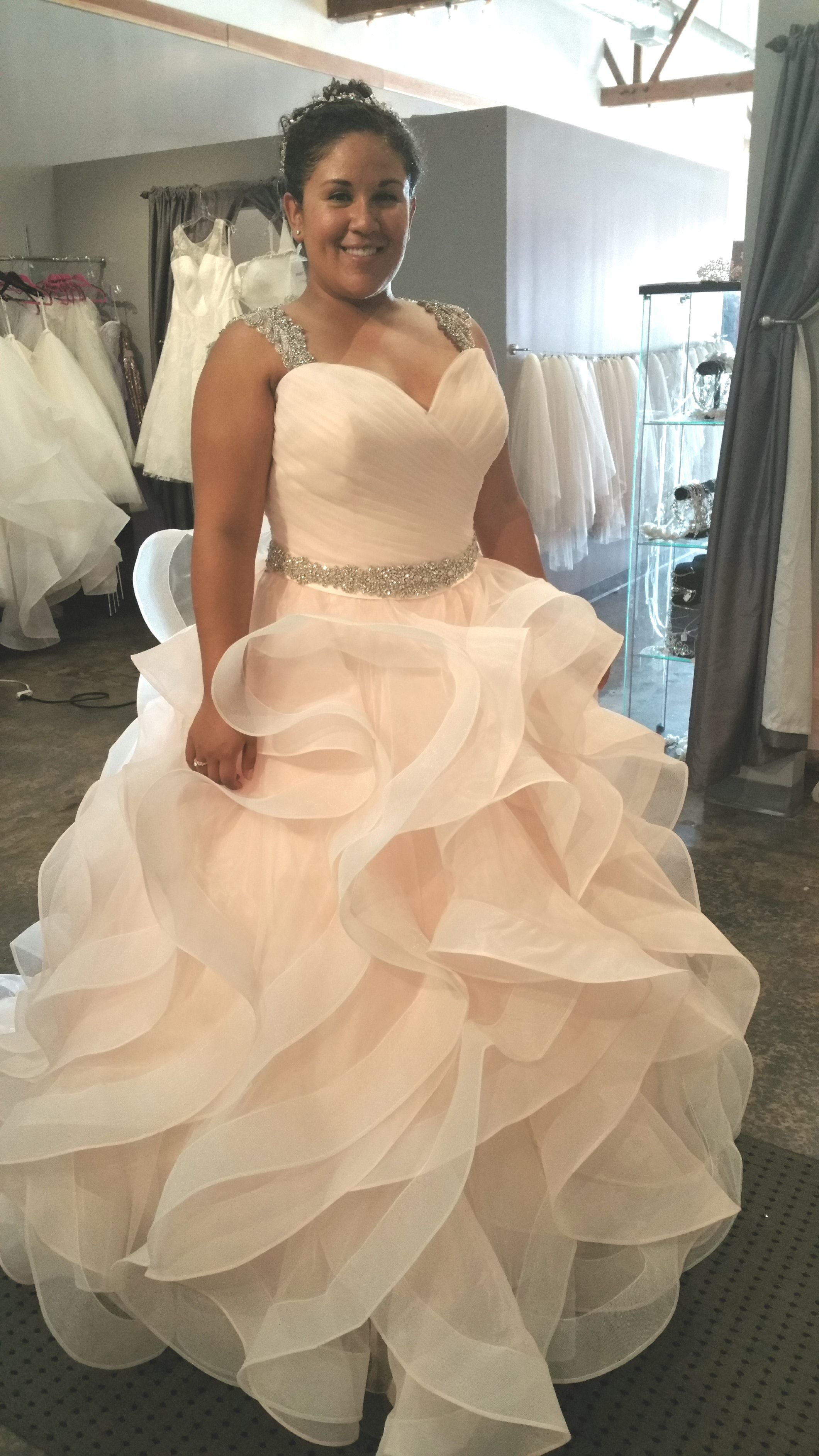 We Are In Love With This New Horsehair Ruffle Ballgown We
