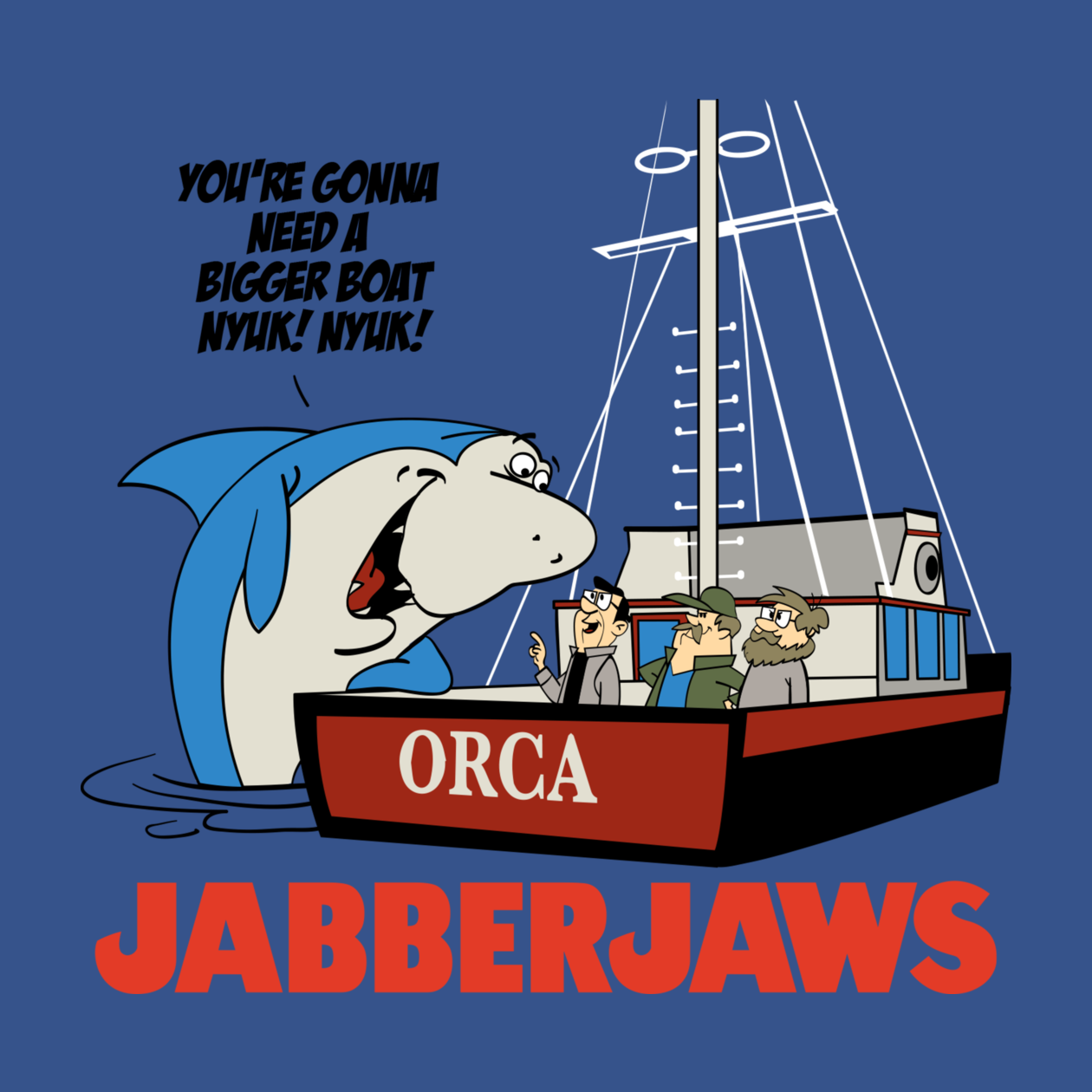 Check out this awesome 'JabberJaws' design on TeePublic! http://bit.ly/1xhFr4L