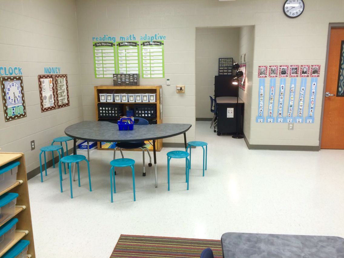 An organized kid friendly space makes learning fun