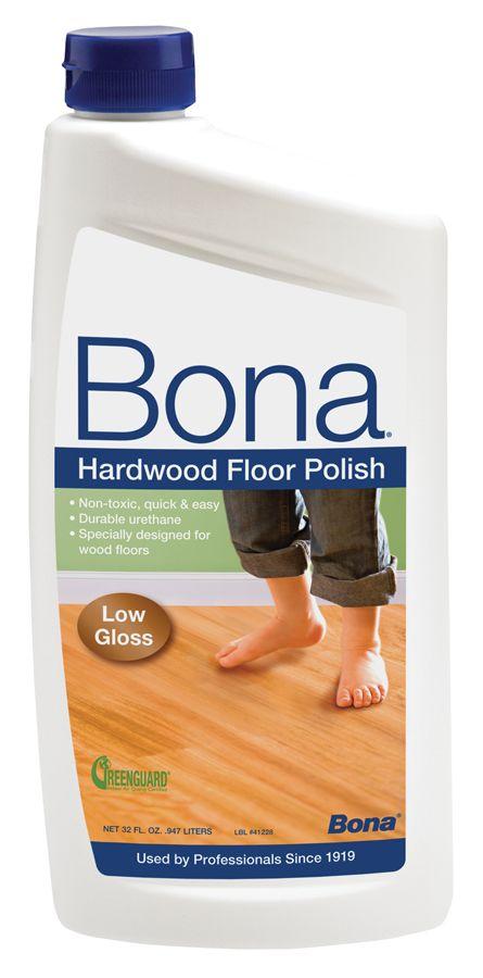 Use Bona Hardwood Floor Polish Low Gloss Every 1 2 Months To Keep