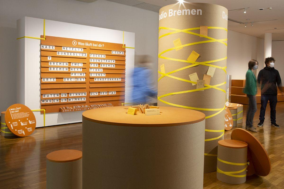 // Finde mehr Infos zur Ausstellung auf unserer Website // #ausstellung #sonderausstellung #ausstellungsgestaltung #exhibitiondesign #exhibition #medienwelten #fockemuseum #radiobremen #gewerkdesign