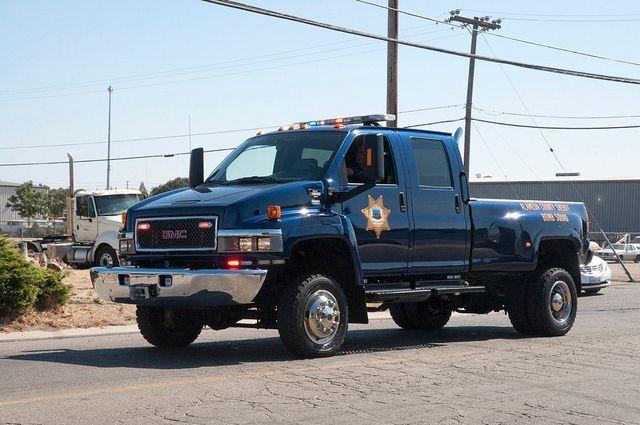 Image Result For Gmc Topkick Police Police Truck Trucks Gmc Trucks
