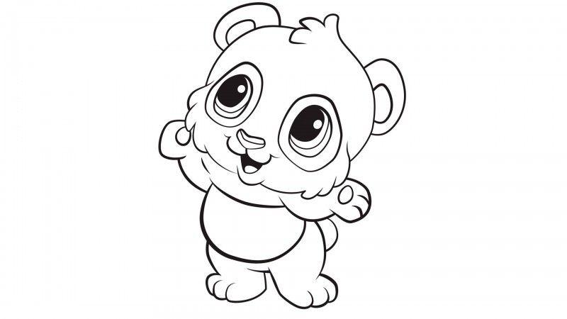 Pin De Ximena Segura En Cuidado De La Piel Panda Para Colorear Garabatos De Animales Dibujos De Animales