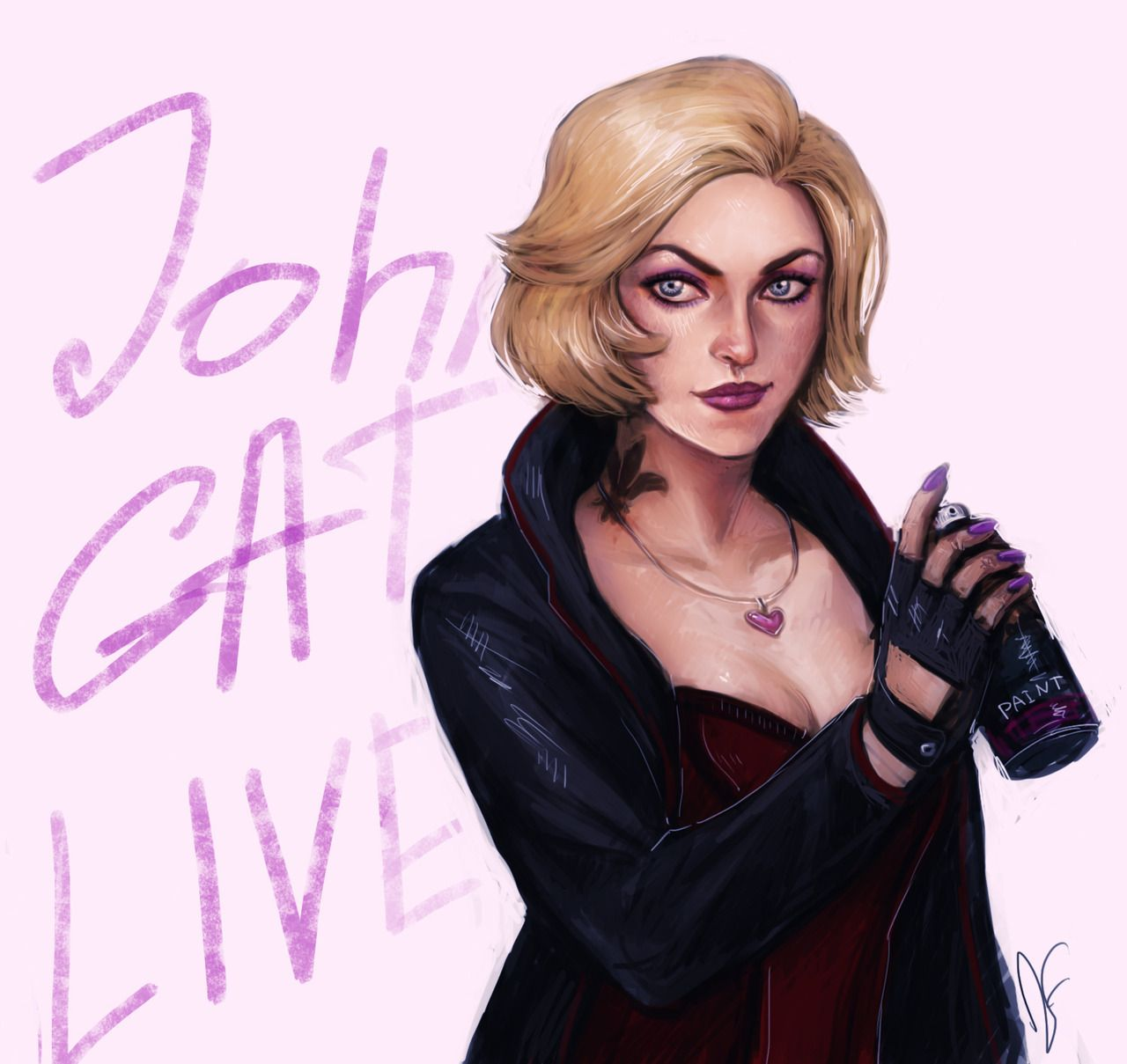 Johnny Gat Lives By Dancinfox On Tumblr Saintsrow Saints Row