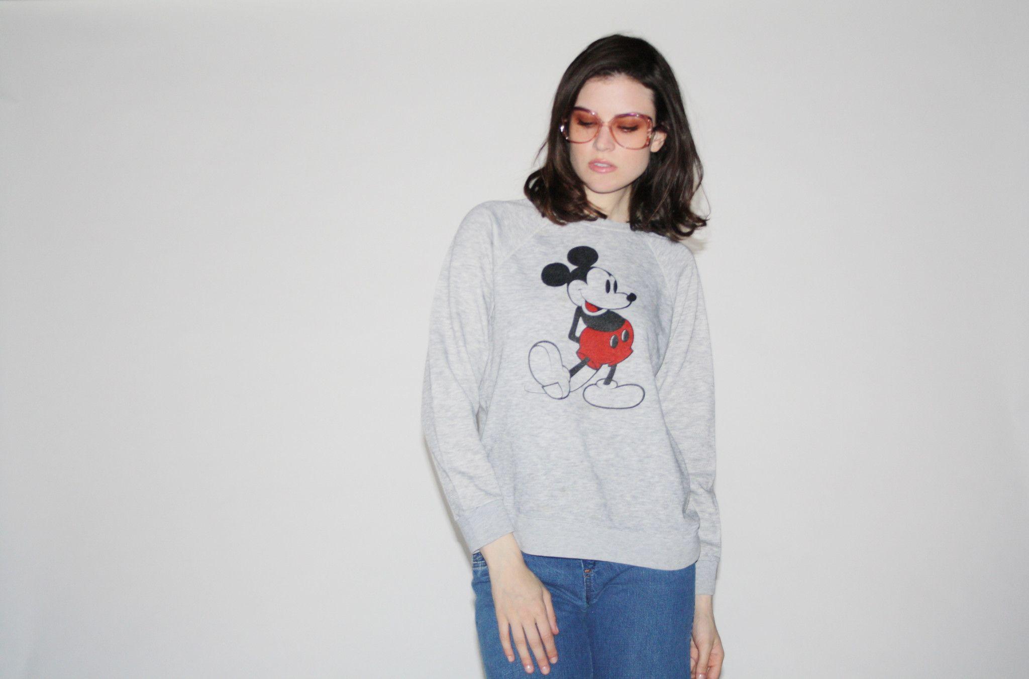 1980s Vintage Disney Mickey Mouse Sweatshirt