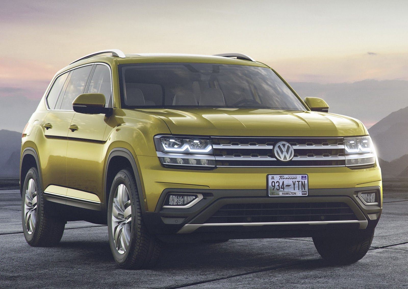2018 VW Atlas Is A BrandNew, 7Seater Large Crossover For