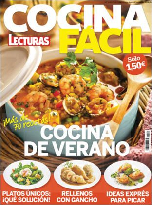 Cocina facil lecturas julio 2016 pdf hq r libros - Revista cocina facil lecturas ...