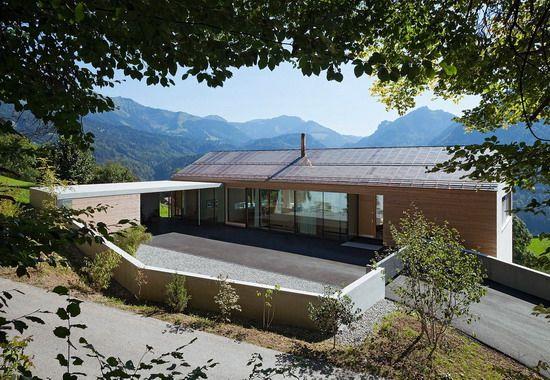 hanghaus projet haus a in vorarlbergcompetitionline fertighaus