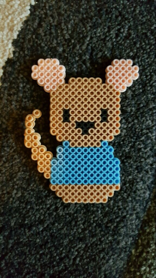 Roo from Winnie the Pooh perler bead