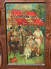 LONDON LIFE Tin SIGN Self-Framed ADVERTISING c.1910 *FREE U.S.A. SHIPPING* - Advertising, c.1910, Free, LIFE, London, SelfFramed, shipping, Sign, u.s.a.