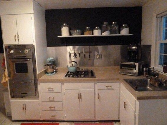 Best 25 cheap kitchen countertops ideas on pinterest for Cheap backsplash diy