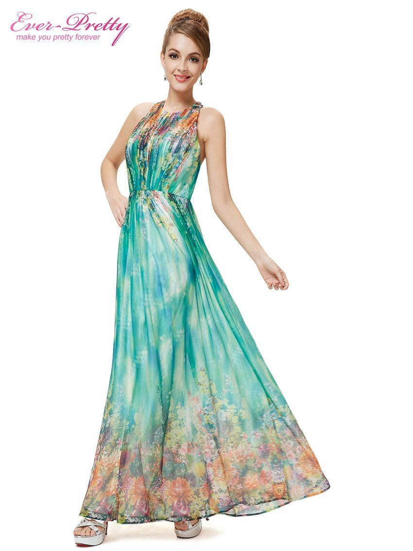 Floral Printed Halter Maxi Beach Long Sexy Party Prom Dress