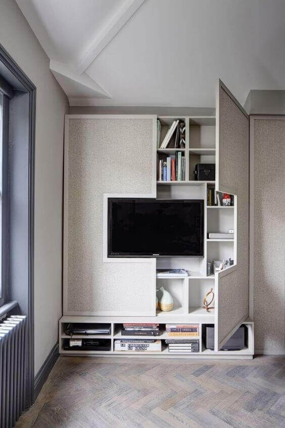 The 30 most uncommon and cool ideas for concealed storage furniture
