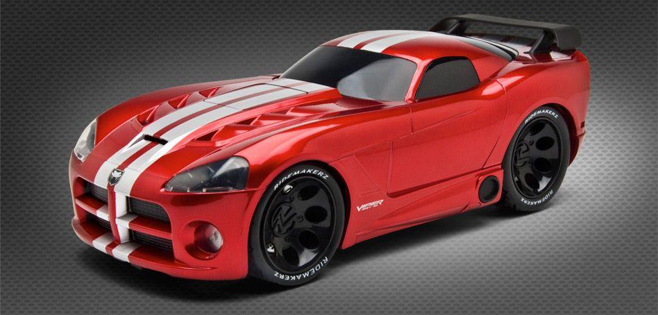 Customizable Toy Car Ridemakerz Dodge Viper Red Venom Build The Venomous Roadster Dodge Viper Dodge Toy Car