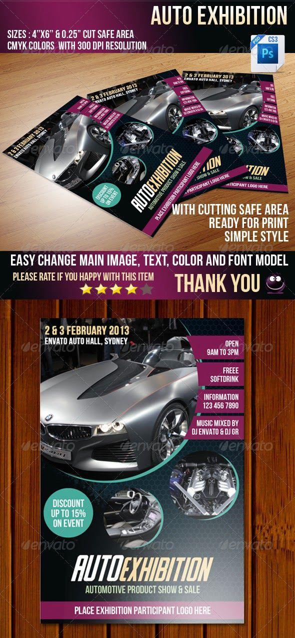 Auto Flyer Templates Free Web Templates Seven Green Design Http