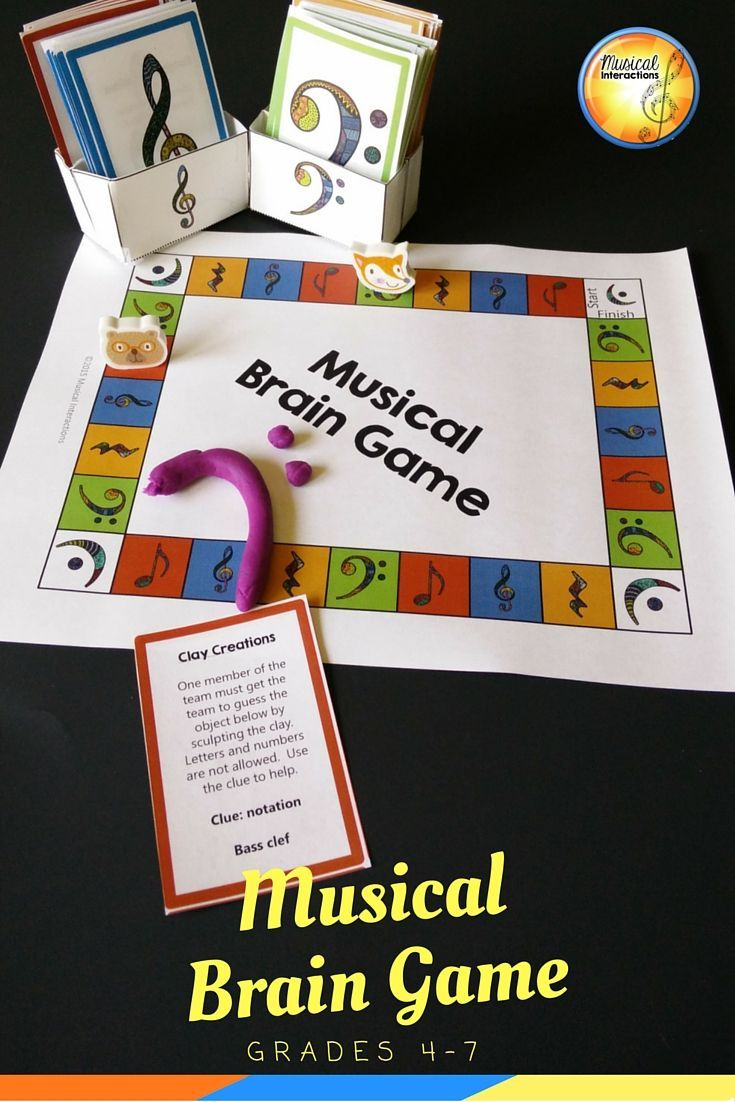 Musical Brain Game (full color) - Comprehensive review, music
