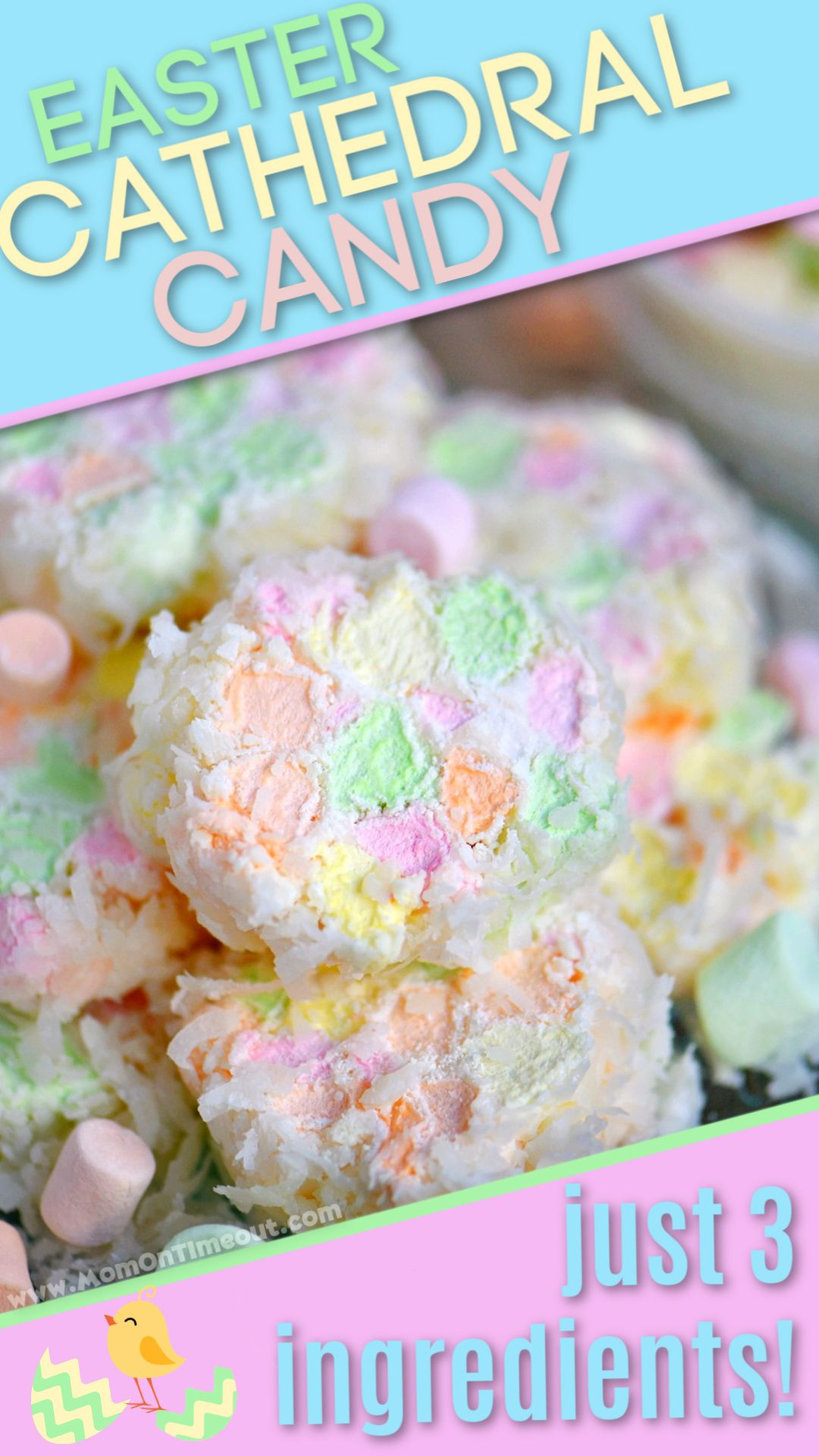 Photo of EASTER CATHEDRAL CANDY – 3 INGREDIENTS!
