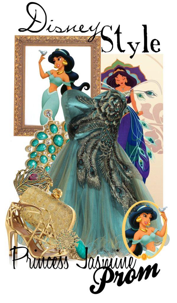 """Disney Style : Princess Jasmine"" by missm26 on Polyvore"