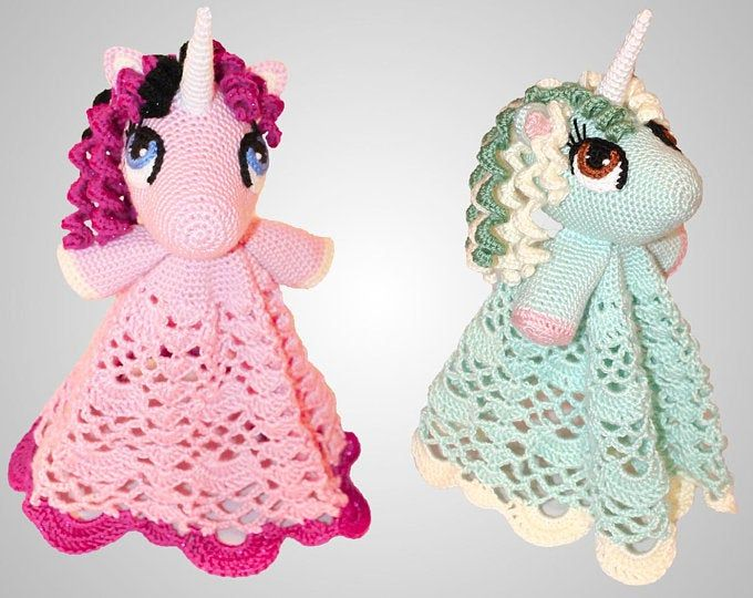 Crochet Unicorn Blanket Pattern - Cute Hooded Wearable Pony Afghan. Easy Downloadable Instructions for baby girls, kids, teens & adults gift #securityblankets