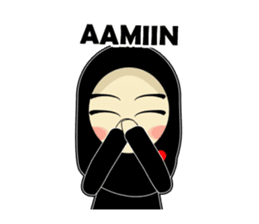 Check Out The Young Muslimah Daily Talk Sticker By Amaustiker On Chatsticker Com Young Muslimah Stickers