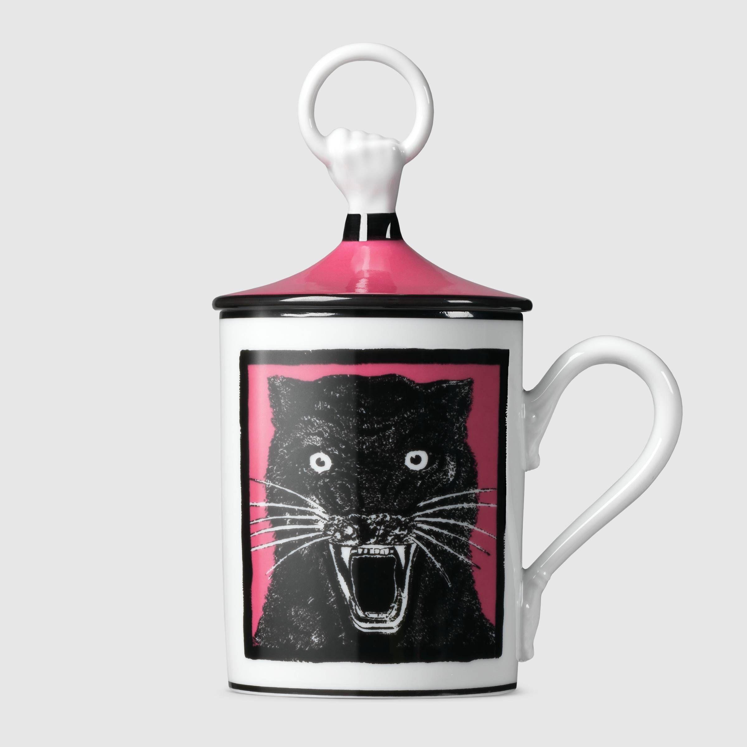 Gucci Panther hand and ring mug Mugs, Homewares shop