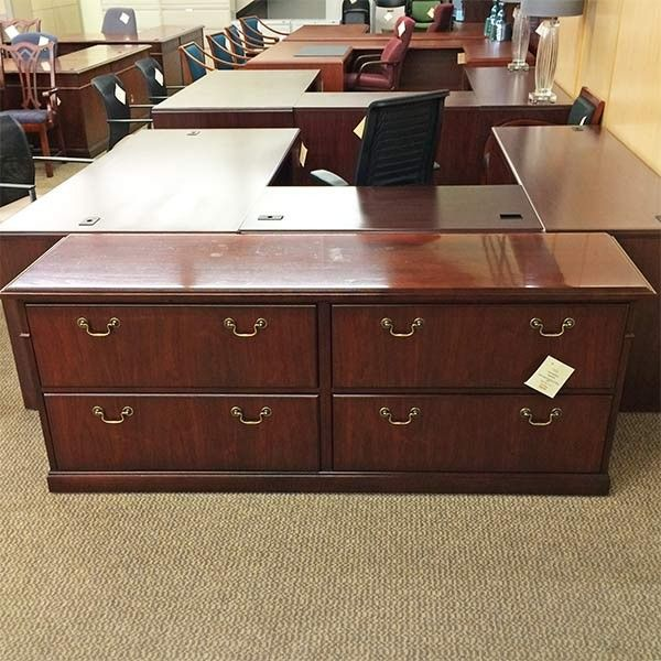 file cabinet credenza used steelcase traditional 76 quot lateral file 15319