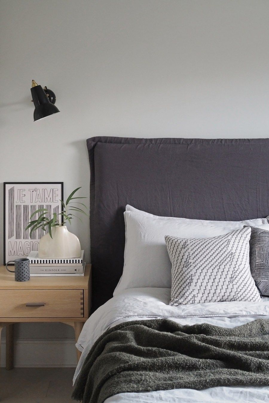 NEW interior project - a minimalist monochrome bedroom and ...
