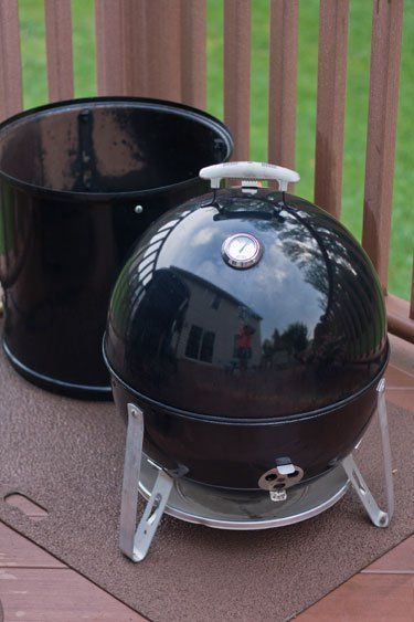 Using A Weber Smokey Mountain As A Charcoal Grill Weber Smokey Mountain Charcoal Grill Grilling