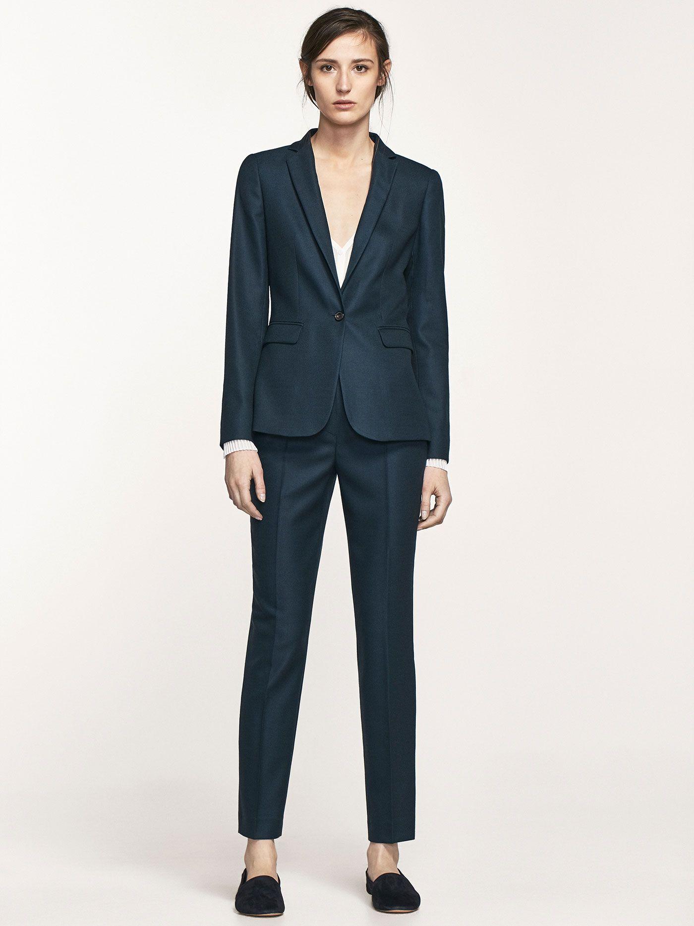 Massimo Dutti 2017 Suits For Women Blazer Fashion Fashion