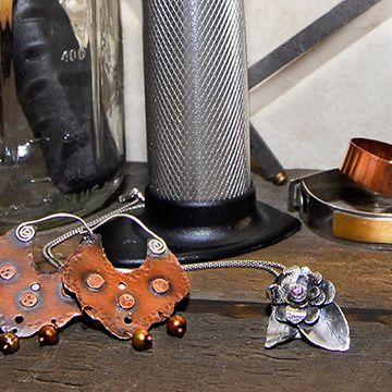Metal, Cristal y Arcilla