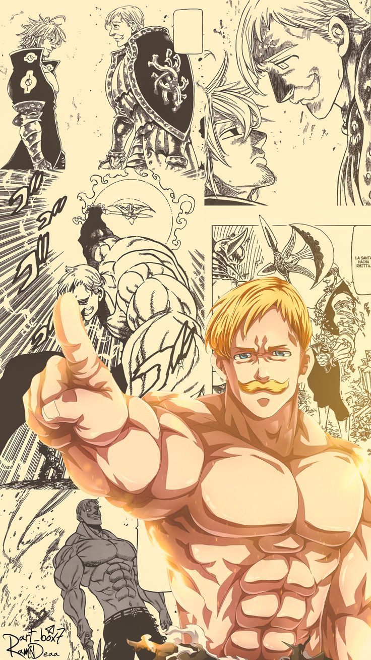 Escanor Seven deadly sins anime, Anime, Manga anime