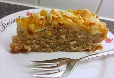 Blondie kookt: Appel-bananentaart met amandelen
