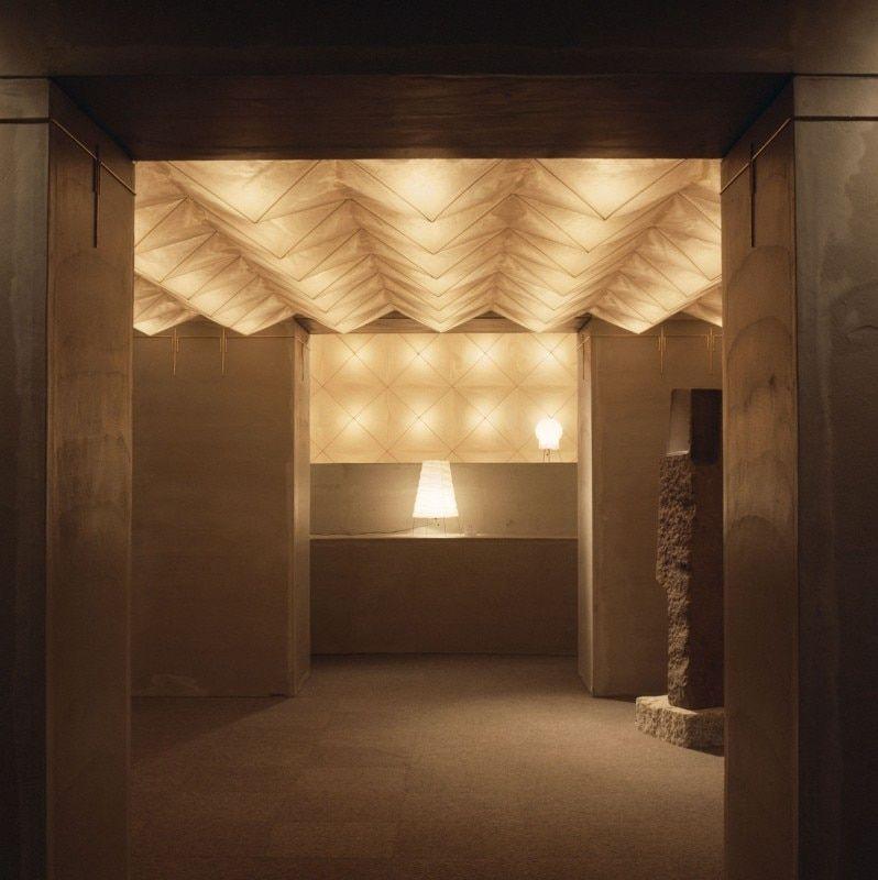 Akari by isamu noguchi space and light as design materials