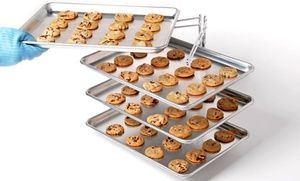 Monaco Home Living 4 Shelf Cooling Rack Cooling Racks Tray