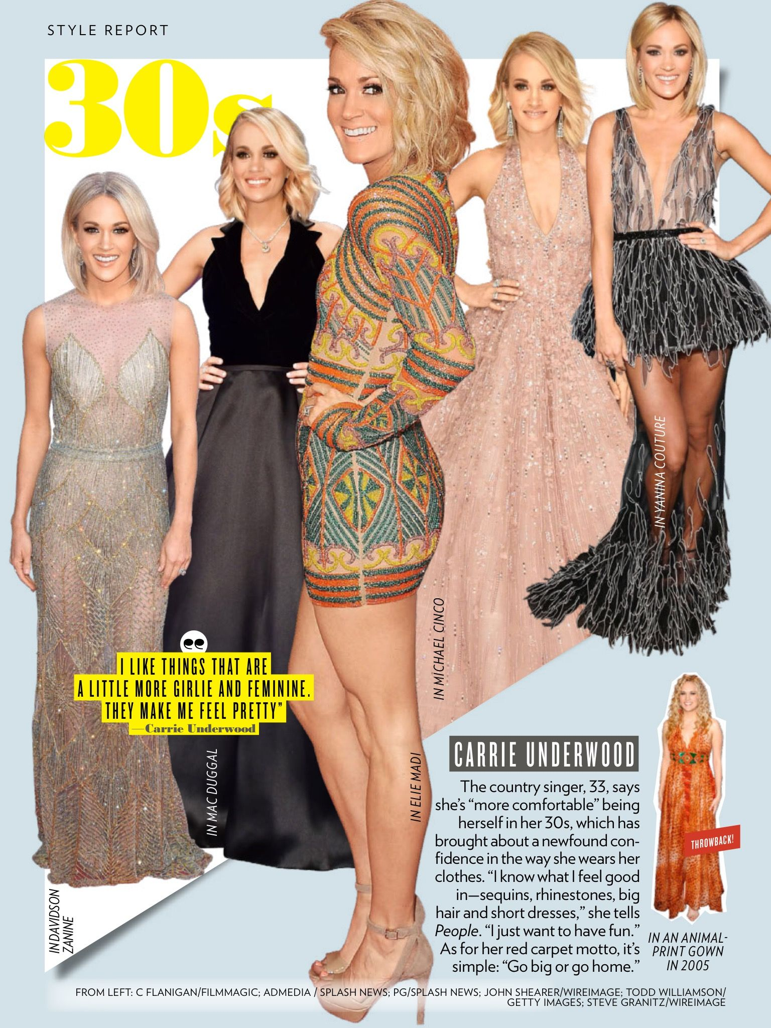 February issue of people featuring carrieunderwood