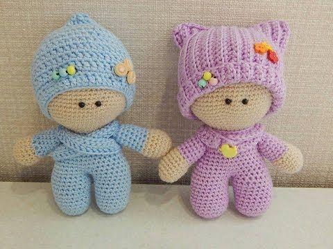 Loom Knitting Tiny Dolls Toys (Round Loom) Loomahat | Telar | Tricotin | نول