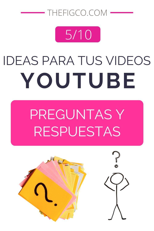 Haz Preguntas Y Respuestas En Tus Videos De Youtube Trucos De Youtube Videos De Youtube Ideas Para Videos De Youtube