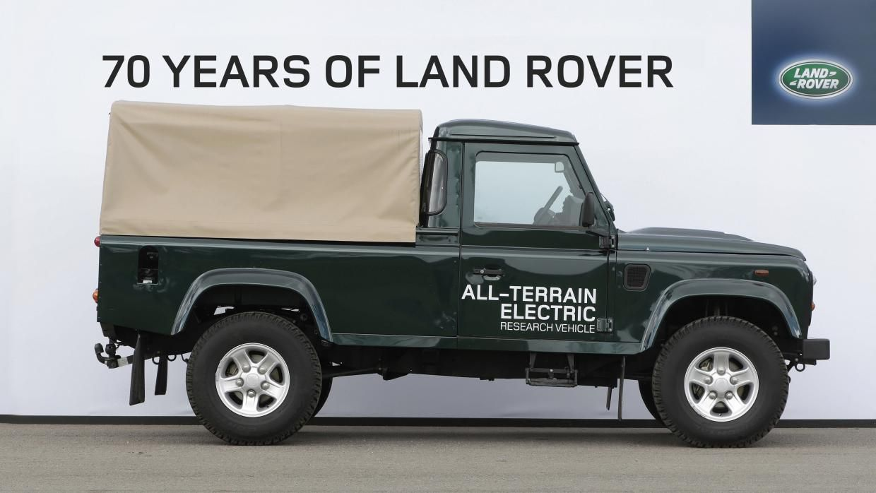 Here Are Some Of Land Rover S Wackiest And Coolest 4x4s Land Rover Models Land Rover Defender Landing