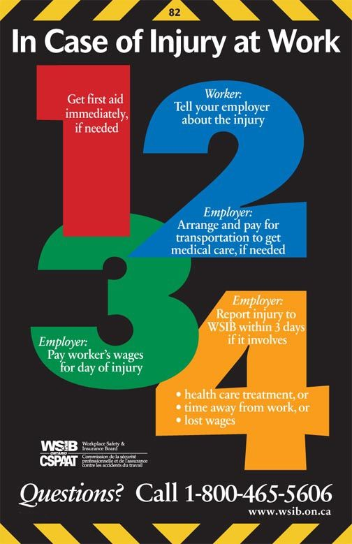 Wsib 82 Jpg 504 779 Pixels Health And Safety Poster Workplace Safety And Health Workplace Safety Bulletin Boards