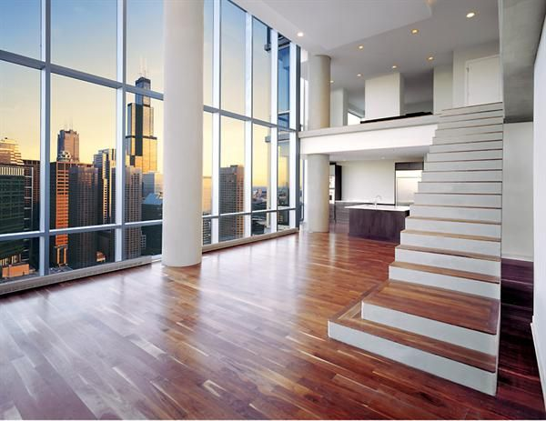 Skybridge Chicago Penthouse | Perkins + Will | High Rise ...